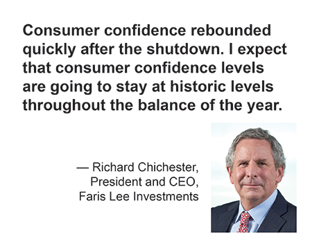 Faris Lee's Richard Chichester - quote on consumer confidence