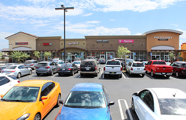 sell of Perris Marketplace shopping center